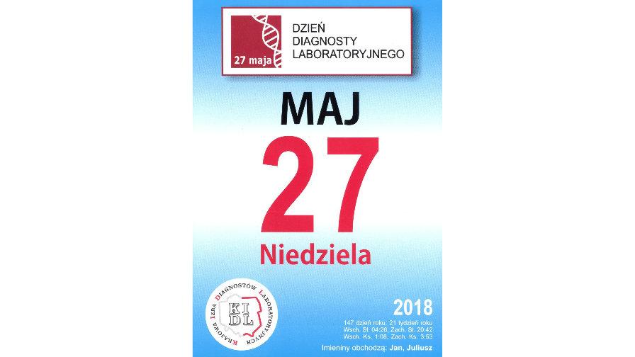 27 maja Dzień Diagnosty Laboratoryjnego